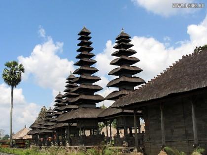 Индонезия. Пагоды