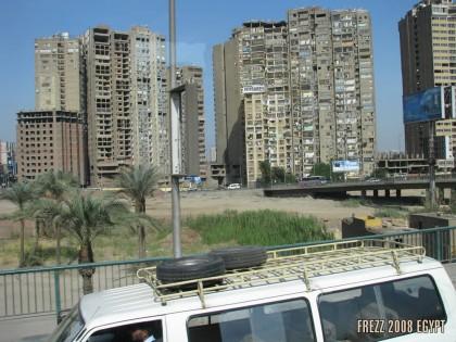 Каир. Застройка