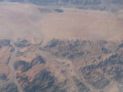 Пустыня. Вид сверху