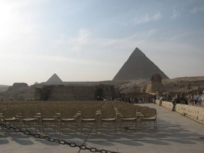 Египет, Фоменко и пирамиды из бетона