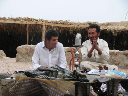 Бомжи, именующие себя бедуинами