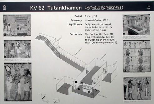 Гробница Тутанхамона. Схема