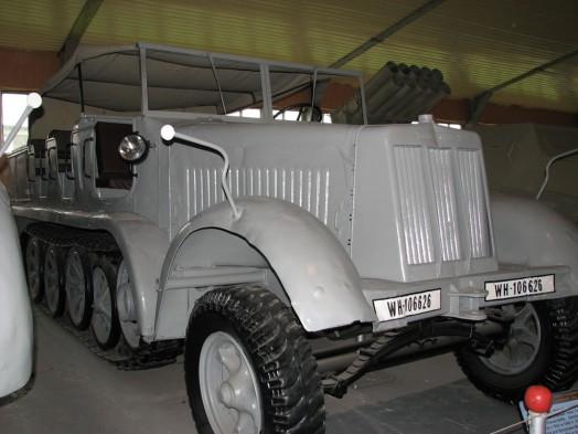 Полугусеничный транспортер