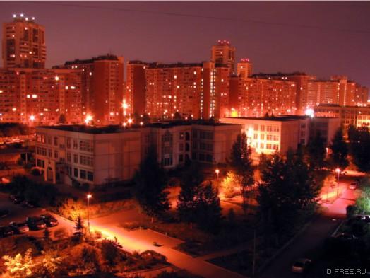Марьино ночью