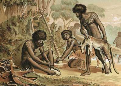 первые австралийские аборигены