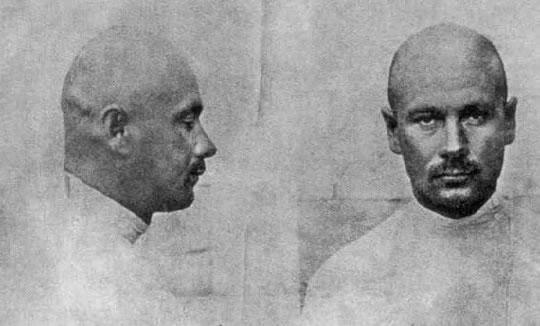 Котовский. Тюремный снимок. 1906 год