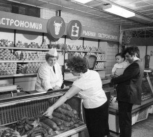 СССР.Та самая колбаса по 2.20